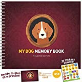 MY DOG MEMORY BOOK - Cute and Funny Keepsake Booklet for Proud Pet Owners. Male Dog Edition!