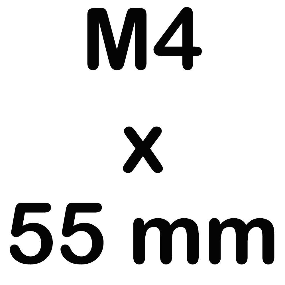10 Zylinderkopfschrauben M8 x 140 Edelstahl mit Innensechskant Zylinderschrauben DIN 912 A2