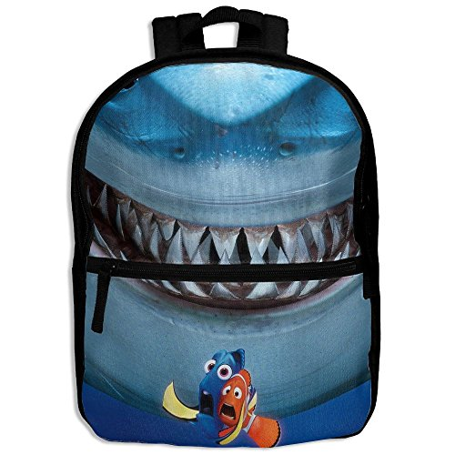 Finding Nemo Bruce Costume (Unisex Finding Nemo Bruce Shoulder School Bag For College Travel Backpack Designed)