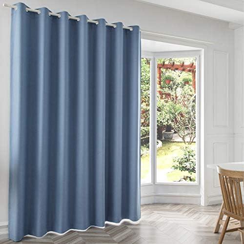 JINLEETOWN 100 Blackout Linen Curtains