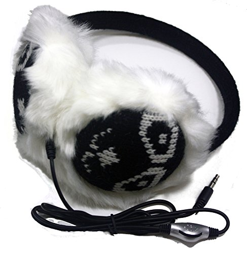 Fashion Dimensions Black Lion Music Audio Ear Warmer Earmuffs