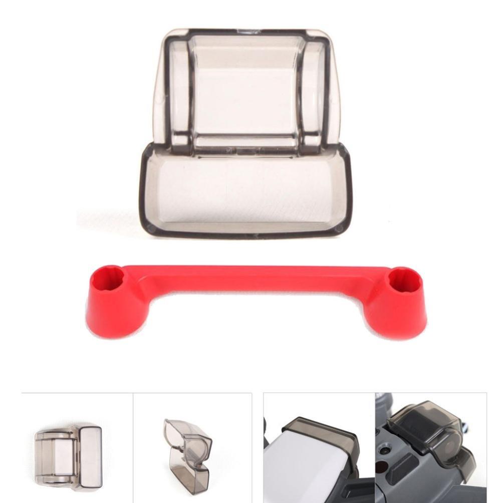 TAOtTAO Camera Lens Cover & Controller Thumb Guard Cap for DJI SPARK Gimbal Accessories (Black)