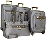 Nicole Miller Jardin 4 Piece Set (Gray)