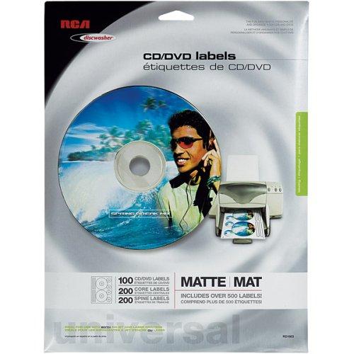 CD/DVD Label Refills ()