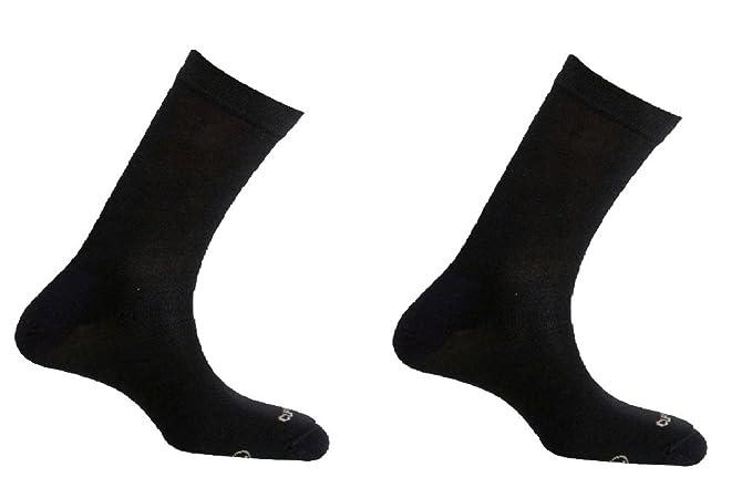 Mund Socks Pack calcetines lisos Antibacterias y Terapéutico, sin costuras para mujer (S (