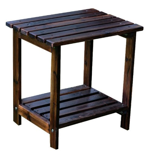 Adirondack Cedar Side Table - 8