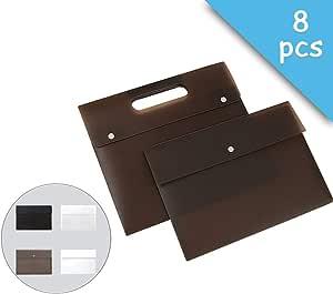 Carteira de documentos de plástico A4 Envelope Pasta de