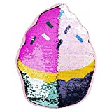"""16"""" Reversible Sequin Pillow 