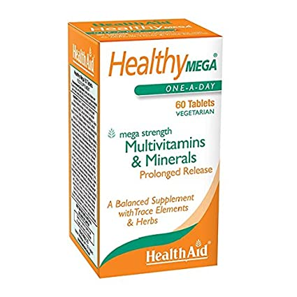 Health Aid Healthy Mega - Prolonged Release, 60 tabletas