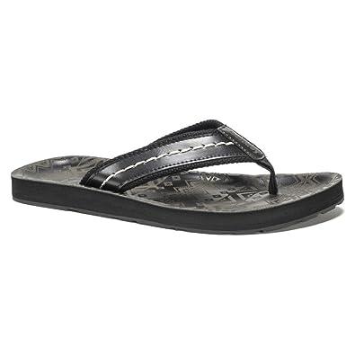 Mens Sandals Muk Luks Scotty Sport Flip Flops Mens Brown Sandals On Sale Store