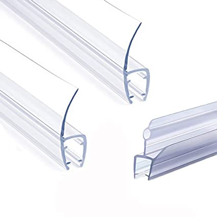Frameless Shower Door Seal Strip Weather Stripping Seal Sweep With