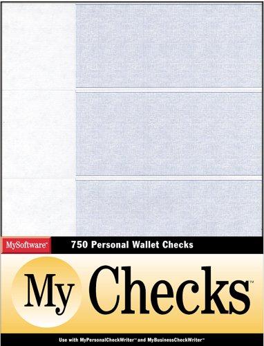 MyChecks Wallet 3-UP by MySoftWare