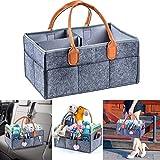 hello kitty storage bin - YJYdada Nursery Diaper Tote Bag Large Portable Car Travel Organizer Baby Shower Gift Bag