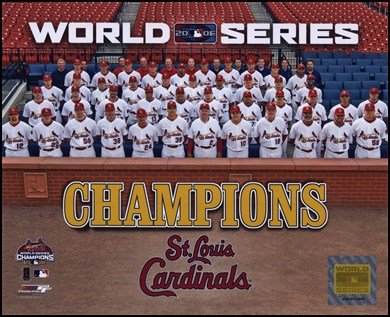 cardinals world series poster