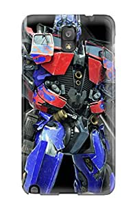 Hot Design Premium UTtSNvd18922xMXkP Tpu Case Cover Galaxy Note 3 Protection Case(optimus Prime)