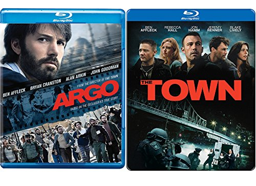 Steelbook The Town Limited Edition Blu Ray + Argo Drama Ben Affleck Movie Set Double Feature Bundle