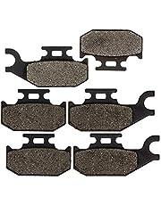 NICHE Brake Pad Kit for Can-Am Commander 1000 800 705600398 705601147 705600350 Complete Semi-Metallic