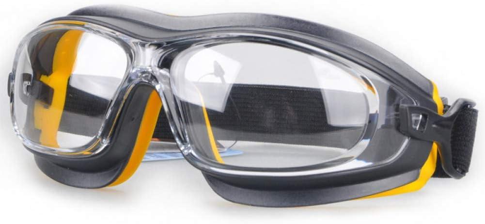 ZHENEN Gafas a Prueba Gafas de Seguridad Polvo Viento A Prueba de Arena Resistente a los Golpes Gafas Protectoras Ácido químico químico Pintura en Aerosol Salpicadura Gafas de Trabajo