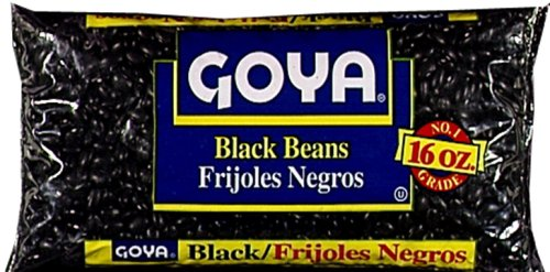 Goya Black Beans, 1 Pound (Pack of 24)