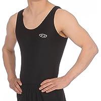 The Zone Boy's sleeveless Nylon/Lycra Gymnastics Leotard Z119