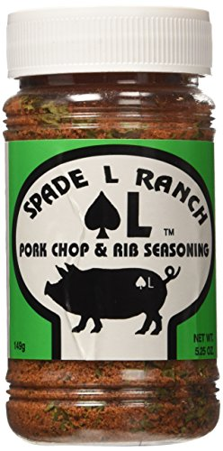 Spade L Ranch Pork Chop & Rib Seasoning 5.25 Oz. by Spade L Ranch