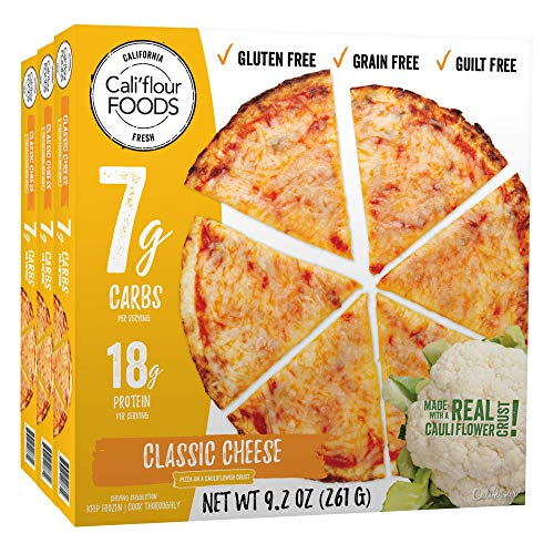 Califlour Foods Pizza (Pepperoni de pollo sin curar, 3 ...