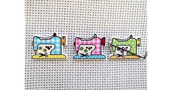 Cross stitch embroidery Sewing Machine Needle Minder Magnet Handmade