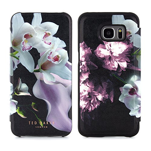 online store a6213 5af53 Galaxy S7 EDGE Case, Official TED BAKER® SS16 Fashion Slim Folio Style Case  for Samsung Galaxy S7 EDGE with Built in Make-up Mirror Folio Case in ...