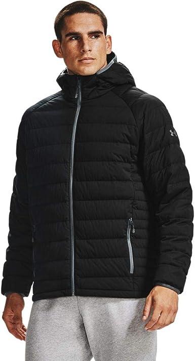 Men/'s new under armour Down Jacket Hiver épais manteau à capuche chaud Gilet Pardessus