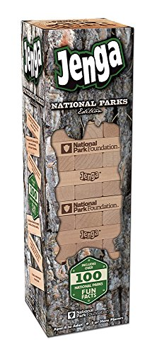 USAOPOLY National Parks Edition Jenga Action Game