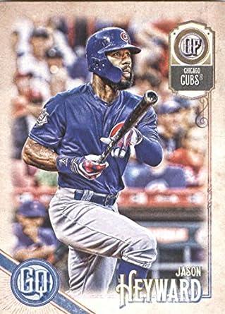 8be7b432eb9 2018 MLB Gypsy Queen  147 Jason Heyward Chicago Cubs Official Baseball  Trading Card