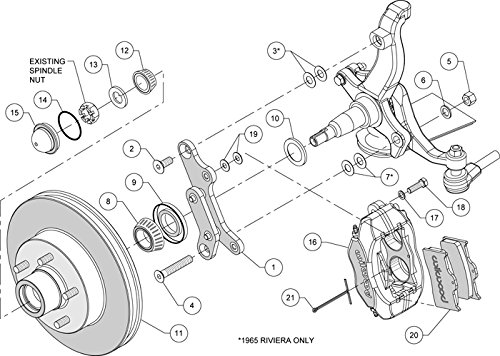 1965 buick riviera suspension diagram