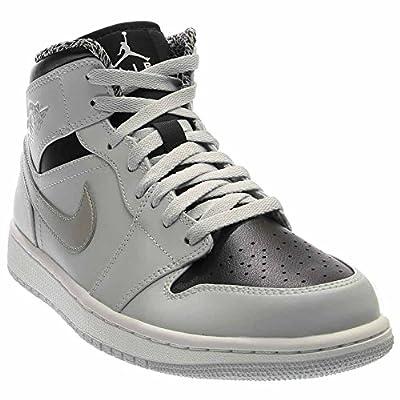 Nike AIR JORDAN 1 MID mens basketball-shoes 554724-032_7 - PURE PLATINUM/WHITE-METALLIC SILVER