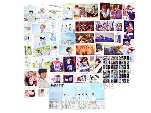 Fanstown Kpop BTS Bangtan Boys Postcard with lomo Cards (BTS-Love Yourself B)