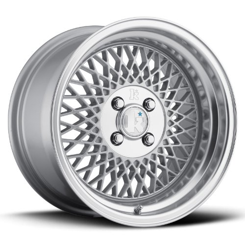 16 KLUTCH SL1 SILVER RIMS WHEELS 16x8 +15 4x100 BMW E30 SCION XB MAZDA MIATA