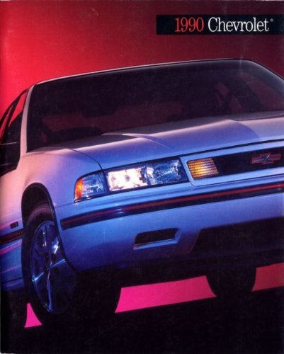 1990 CHEVROLET PASSENGER CARS FULL-LINE PRESTIGE COLOR SALES BROCHURE - LUMINA, LUMINA APV, CORSICA, BERETTA, CAMARO, CORVETTE, CAVALIER, CAPRICE CLASSIC, CELEBRITY WAGON & TRUCKS - USA - THICK 106 PAGES - EXCELLENT !!