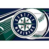 MLB Seattle Mariners Tufted Rug 39-inch x 59-inch