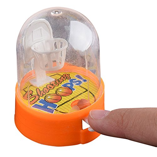 Novelty Mini Basketball Toy, Developmental Handheld Toy for Baby Teens Kids Adults,Best Gift (A)
