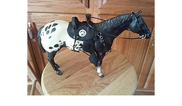 Breyer Custom parade saddle bridle breast collar set only no horse