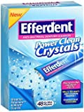 Efferdent Crystals Pwr Cl Size 48ct Efferdent Crystals Pwr Clean 48ct
