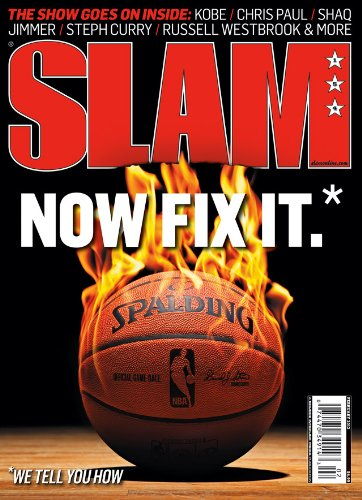 Slam Magazine - January 2012 - Kobe Bryant, Brandon Bass, Stephen Curry, Jimmer Fredette, Meadowlark Lemon, Shaquille O'Neal, Chris Paul, Pat Summitt - NBA Basketball Magazine