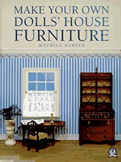 Dolls house furniture book joan mcelroy 9780394400570 amazon make your own dolls house furniture solutioingenieria Image collections