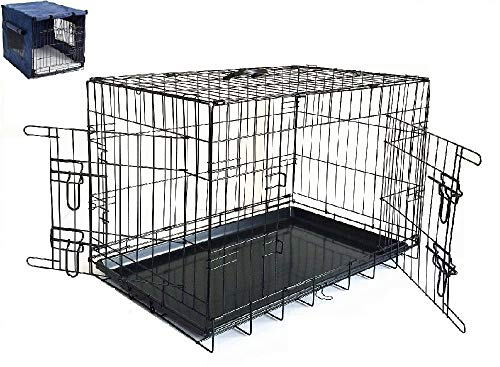 Petnap Pet, Dog, Cat Animal Crate with Accessories, Pen Car Cage for transportation, Vehicle Cage 1
