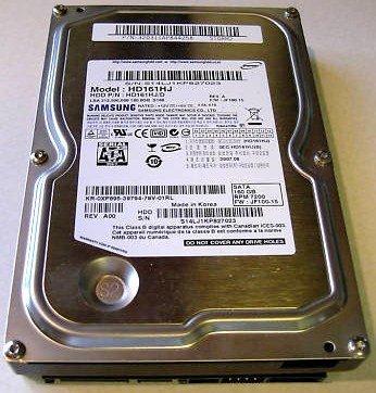 - HD161HJ/D Samsung 160gb 7200rpm 3.5inch 8mb Cache Sata 3gbps Internal