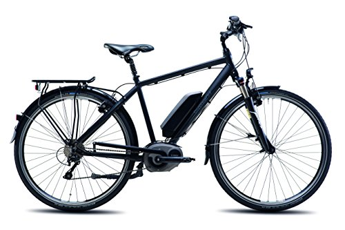 Steppenwolf Transterra M.E1 Electric City Commuter Bike, 700c wheels, 20 inch frame, Men's Bike, Matte Black, 99% assembled