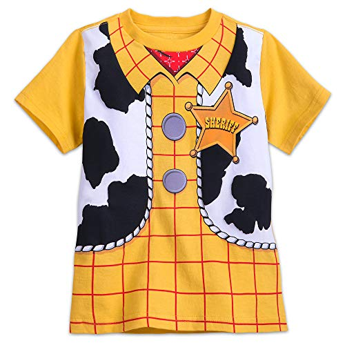 Disney Woody Costume T-Shirt for Kids Size S -