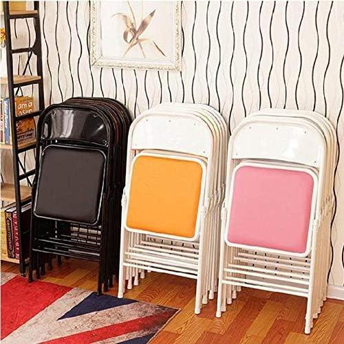 CR-MA Articles ménagers légers et stables Chaises familiales pliables Chaises de bureau confortables Chaises extérieures et intérieures