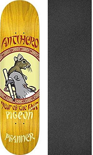 テメリティ倉庫真空Anti Hero Skateboards Chris Pfanner Year of the PigeonスケートボードDeck – 8.25