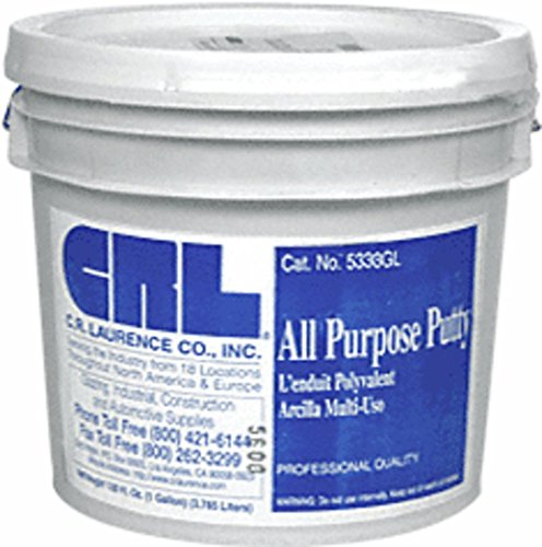 CRL Gray 3.5 Gallon All Purpose Putty by CR Laurence