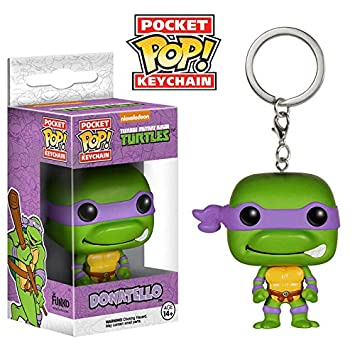 Llavero Pocket POP Donatello Tortugas Ninja: Amazon.es ...